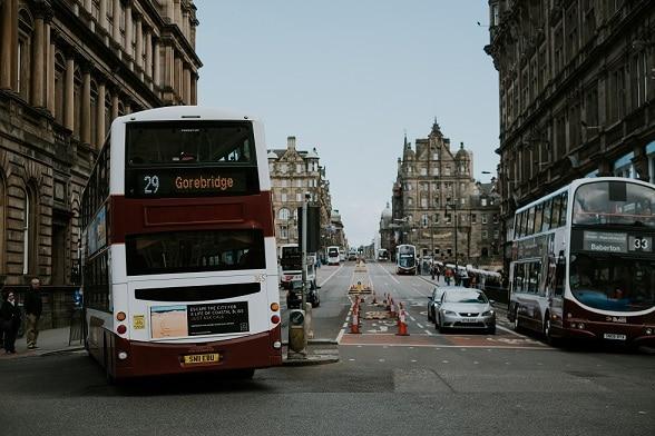 Edinburgh photo by Matteo Badini from Pexels